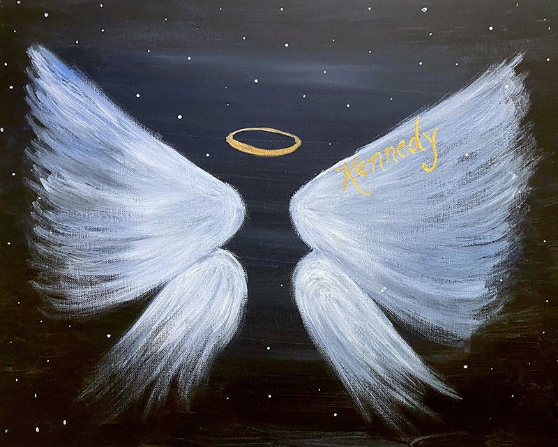 Paint & Sip for Angels 10 - Kennedys Angel Gowns