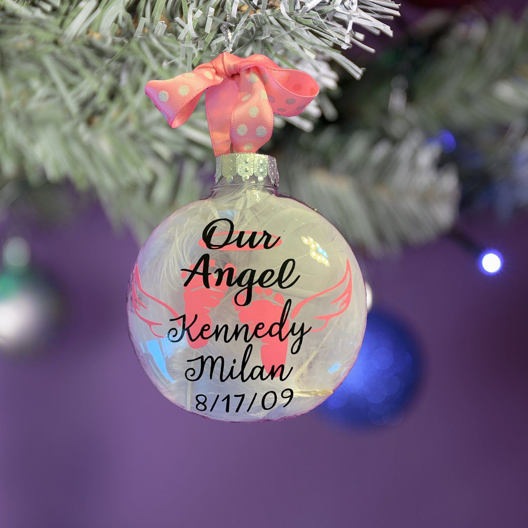 Infant Loss Ornament Workshop 2020 12 - Kennedys Angel Gowns